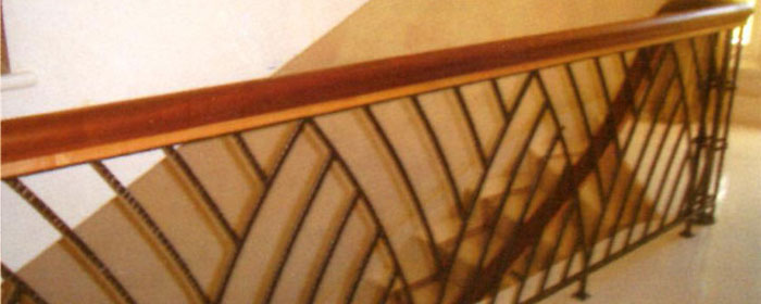 Powder Coated Staircase Balustrade